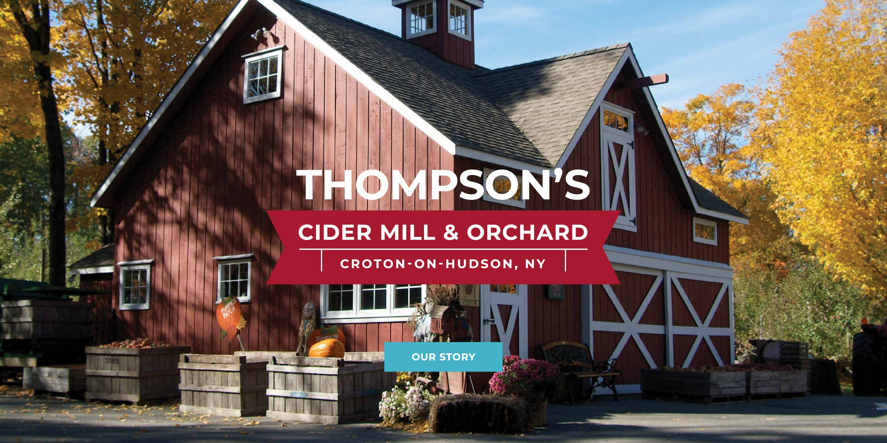 Thompsons Cider Mill and Orchard Croton on Hudson NY