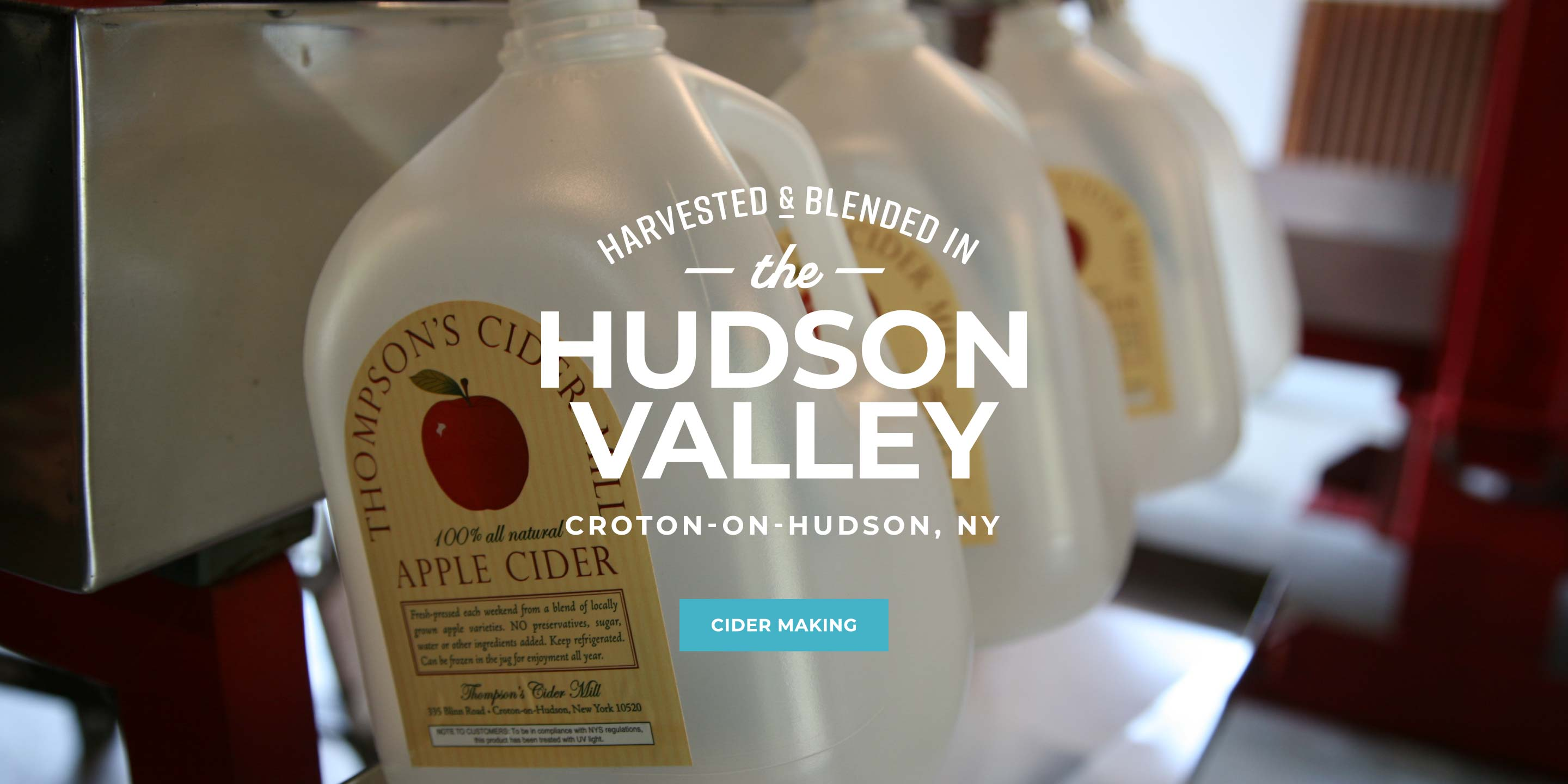Harvested and Blended in the Hudson Valley